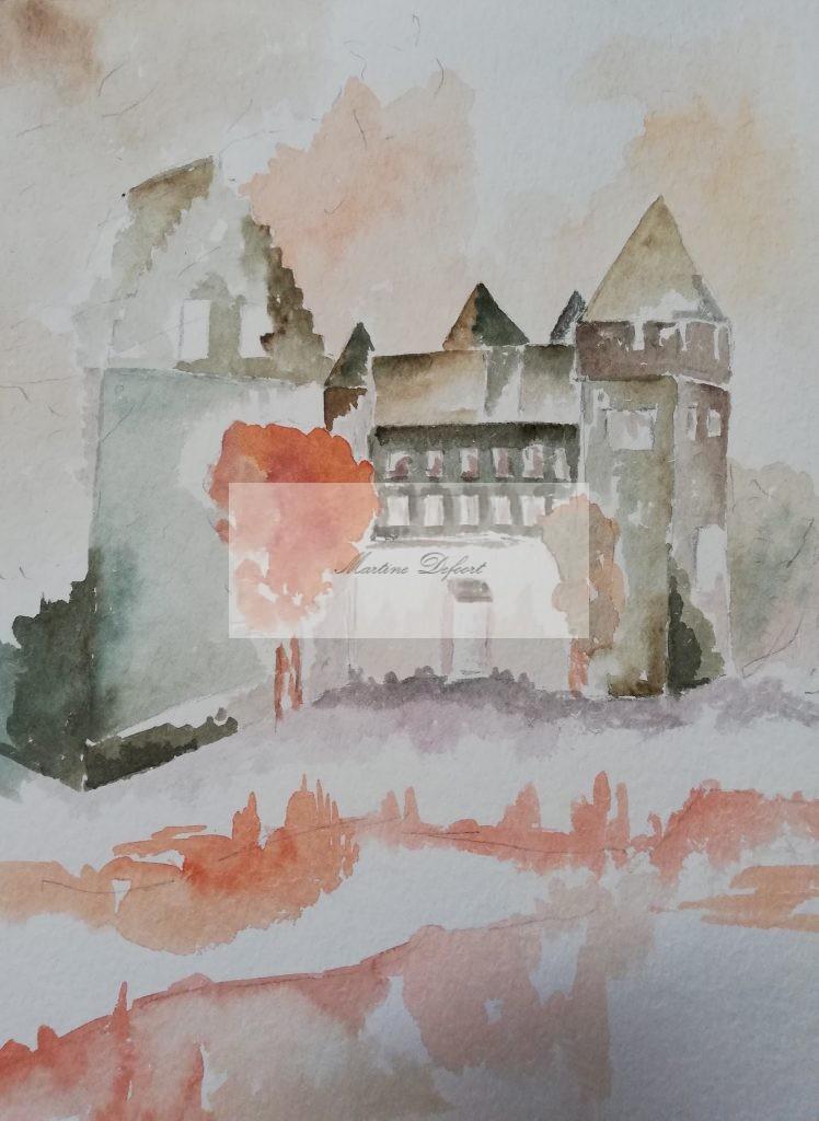 Castle in Limburg